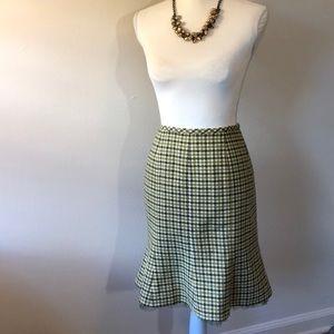 Caslon Tweed Polka Dot Tulip Skirt - 10P